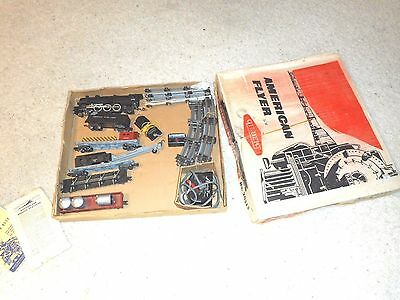 S Gauge American Flyer 20515 Reliable Pacific Freight Set