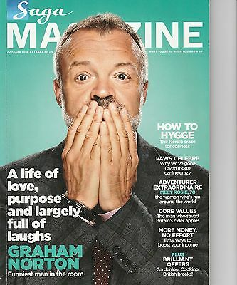 Saga Magazine - October 2016 - Graham Norton