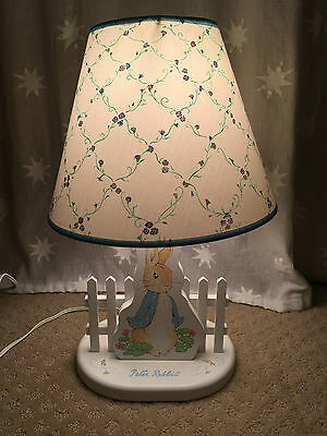 Eden  Peter Rabbit My First Beatrix Potter Nursery Lamp Built In Nightlight
