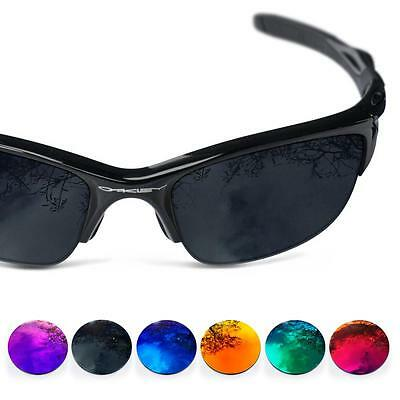 ddbf53859ec9f Fit See Polarized Replacement Lenses for Oakley Flak Jacket ( Choose Color )