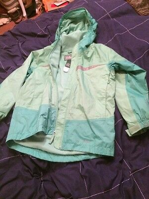 LL BEAN ANORAK CAGOULE JACKET WITH HOOD - Childs