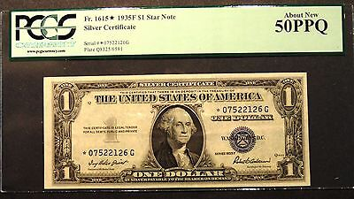 Pcgs 50Ppq Note $1 Star Note 1953 Silver Certificate