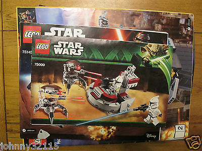 Lego Instruction Manuals - Star Wars, City, Agents, Angry Birds + 4.7Kg FREE P&P