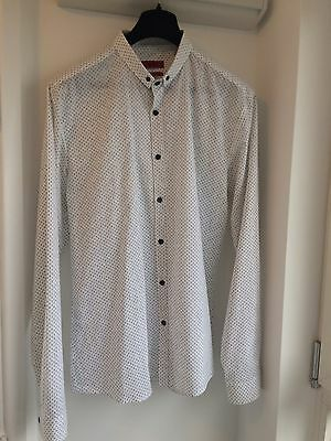 Men's New Hugo Boss Shirt Numbers Size XL Slim Fit Cost  £149