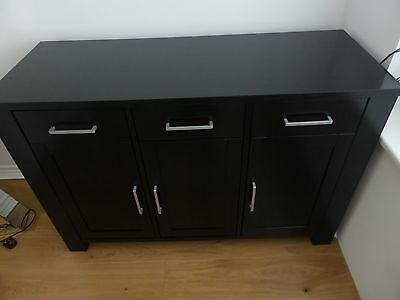 Black Wooden Sideboard - collection SP4