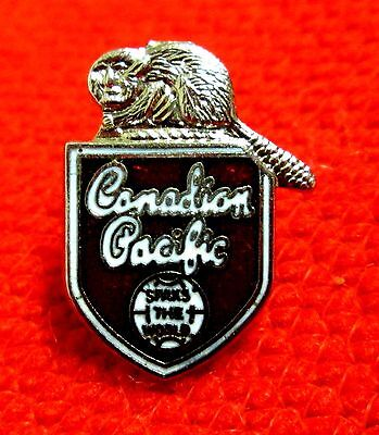 Canadian Pacific Railway Spans The World CP Steamships lapel pin hat pin wolu2