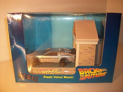 Back To The Future Delorean  Ultra rare musical cell phone battery charger MIB