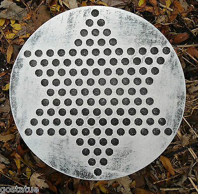 Chinese checker mold concrete plaster casting game mould