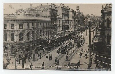 Real Photo Queen Street Auckland New Zealand.