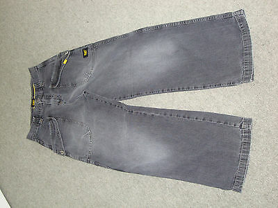 Boys grey faded style jeans by designer CAT/Caterpillar