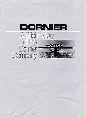 Dornier A Well Illustrated Brief History Of The Dornier Company