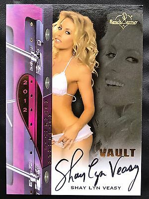 Shay Lyn Veasy 2012 Bench Warmer Vault Autograph