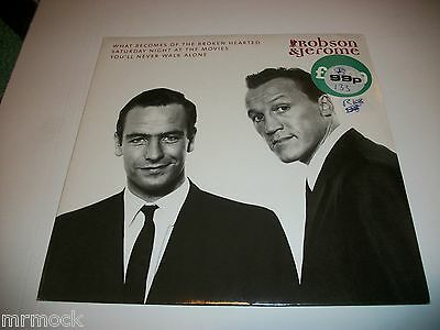 """Robson & Jerome- What Becomes Of The Broken Hearted Vinyl 7"""" 45Rpm P/s"""