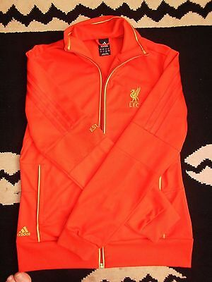 Adidas sweater sweatshirt veste tracktop taille M Liverpool Fc