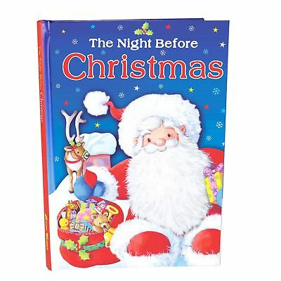 Christmas Gepolstert Hardcover Kinder Buch - The Night Before Christmas