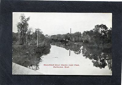 Harlowton,MT-Musselshell River ELECTRIC POWER PLANT-1911 RPO Miles City & Butte