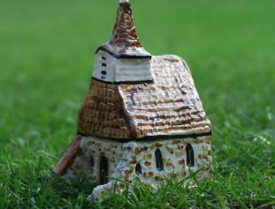 TEY POTTERY LULLINGTON CHURCH Alfriston Sussex Britain in Miniature
