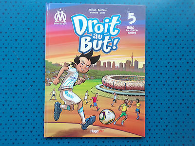 bd DROIT AU BUT tome 5 olympique de marseille