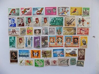African Collection of stamps off paper Defin. & Comm.-12-1-Incl. (3) mnh Ghana