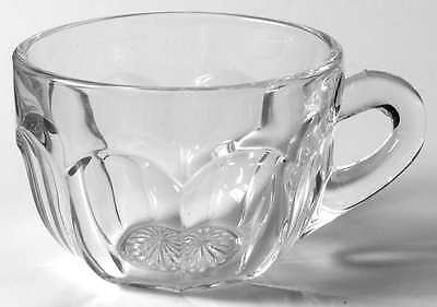 Imperial Glass Ohio OLD WILLIAMSBURG CLEAR Punch Cup 237432