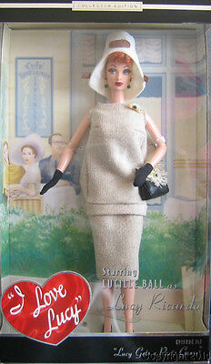 2002 I Love Lucy Barbie Lucy Gets a Paris Gown Lucy Doll NEW!