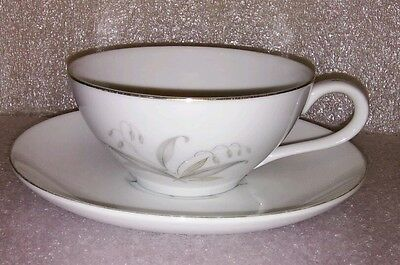 Kaysons  Golden Rhapsody Fine China Tea Cup & Saucer