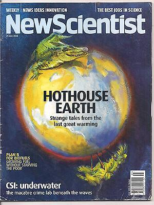 NewScientist-21 june 2008-HOTHOUSE EARTH.
