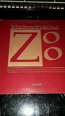 To the shores of Lake Placid Zoo compilation vinyl  (Big in Japan/Bill Drummond)