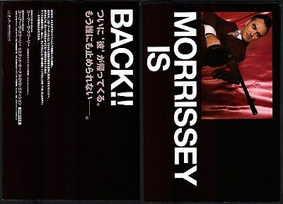 2004 Morrissey You Are The Quarry 2pg JAPAN album promo ad / the smiths m6r