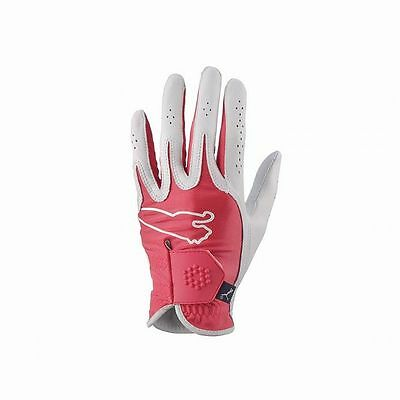 Puma Ladies Monoline Performance Golf Glove (Red, RIGHT) NEW