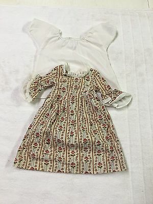American Girl Pleasant Company Doll Felicity's Meet Dress/outfit