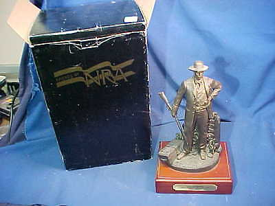 """2004 FRIENDS Of The NRA Sponser 12"""" SCULPTURE-The MARSHALL w Orig Box # 0187"""