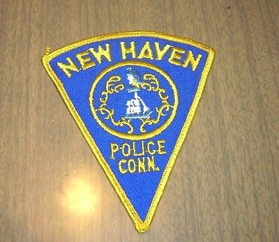 NEW HAVEN POLICE, CONN. Police or Law Enforcement Patch