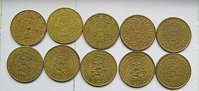 Vintage Chuck E Cheese Tokens Lot Of 10