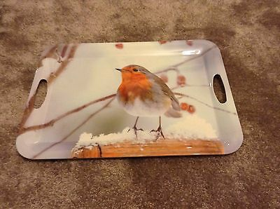 Marks and Spencer  - ( M & S ) - Robin Christmas Scene Tray - Brand New !!!
