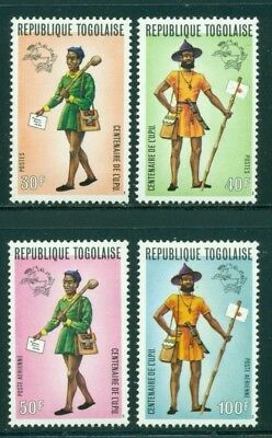 Togo Scott #873//C223 MNH UPU Centenary Mail Delivery People $$