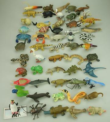 Lot of 55 Yowie Animals Promotional Toys D63