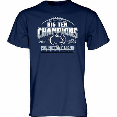 Penn State Nittany Lions 2016 Big 10 Conference Champions Locker Room T-Shirt
