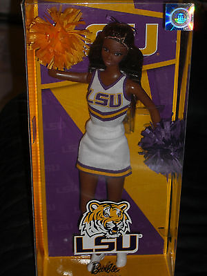 2013 Pink Label Louisiana Tigers State University Cheerleader Af.am Barbie!!