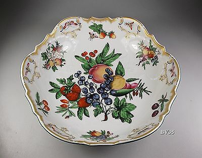 """Mottahedeh Duke Of Gloucester Round Salad Serving Bowl  10 1/4"""" - Perfect"""