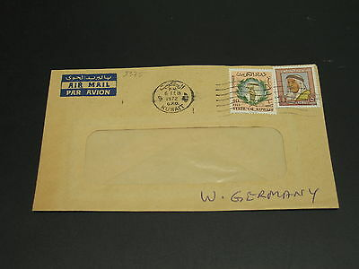Kuwait 1972 airmail cover to Germany *9375