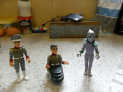 Matchbox - Vintage - Gerry Anderson - Commander Shore, Titan & Troy - Used