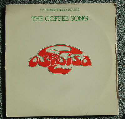 """Osibisa – The Coffee Song / Keep On Trying  (1976 MINT Vinyl 12"""") DISCO FUNK"""