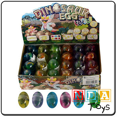 Dinosaur Coloured Egg With Goo Party Bag Filler
