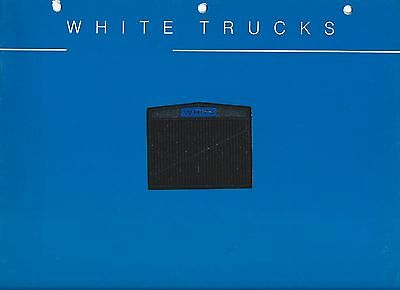 Truck Brochure - White - Product Line Company Capabilities Overview (T1787)