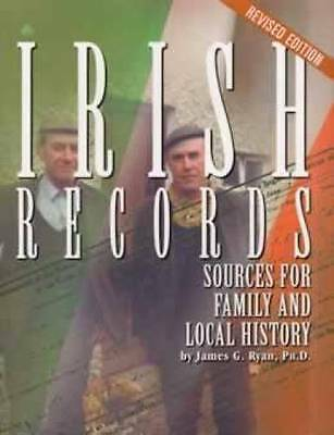 Irish Records Sources for Family History Book Genealogy