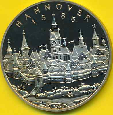 Hannover 750 Jahre  Medaille  PP
