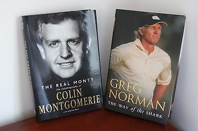 Two golf biographies for the golf enthusiast.  Hard backs.  Perfect condition