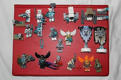 Lego Chima Minifigures and extras