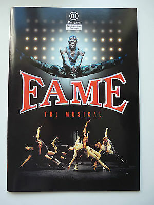 Fame The Musical 2002 Tour - Northampton Theatre Derngate Programme
